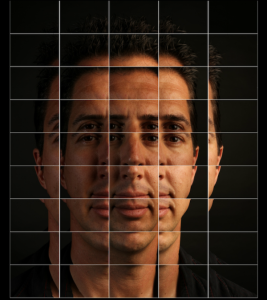 Chris as a mosaic Gigapan of the full image